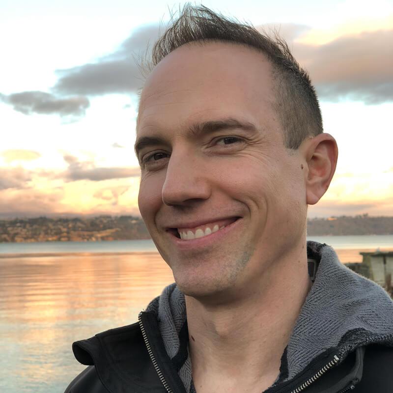 David close-up in Tacoma