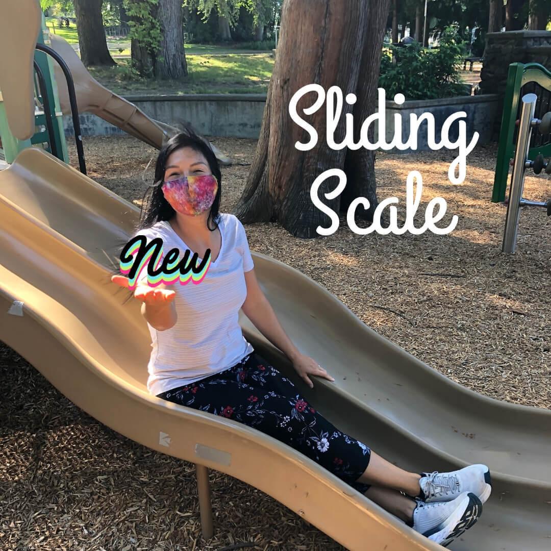 new sliding scale