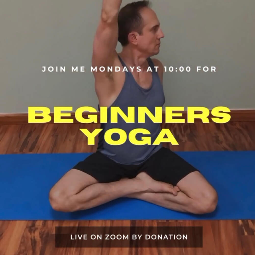 Virtual Beginners Yoga with David